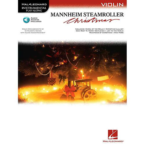 Hal Leonard Mannheim Steamroller Christmas For Violin - Instrumental Play-Along (Bk/Audio)
