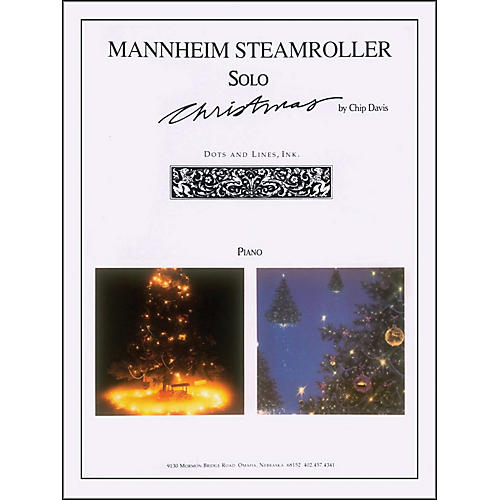 Hal Leonard Mannheim Steamroller Solos Christmas for Violin And Piano