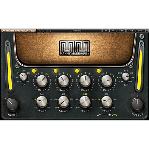 Waves Manny Marroquin EQ Native/SG Software Download