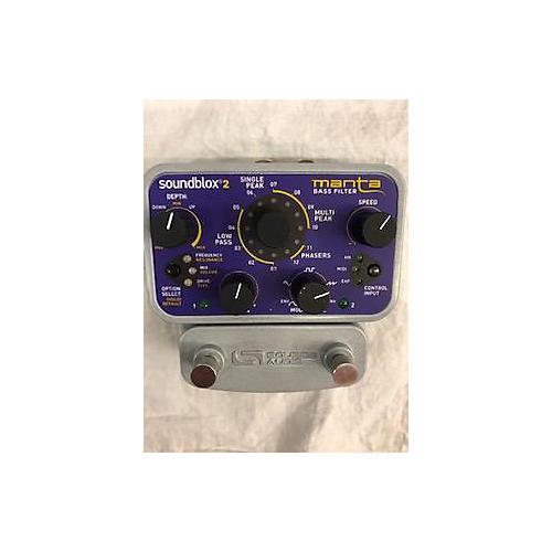Source Audio Manta Bass Filter Bass Effect Pedal