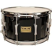 Pork Pie Maple/Oak Snare Drum Level 1 High Gloss Black 8X14