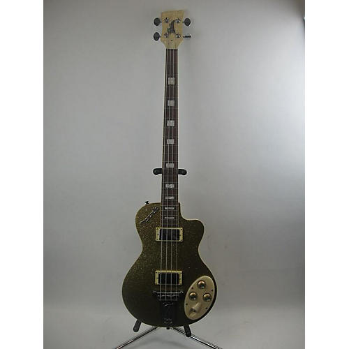 used italia maranello electric bass guitar gold sparkle guitar center. Black Bedroom Furniture Sets. Home Design Ideas
