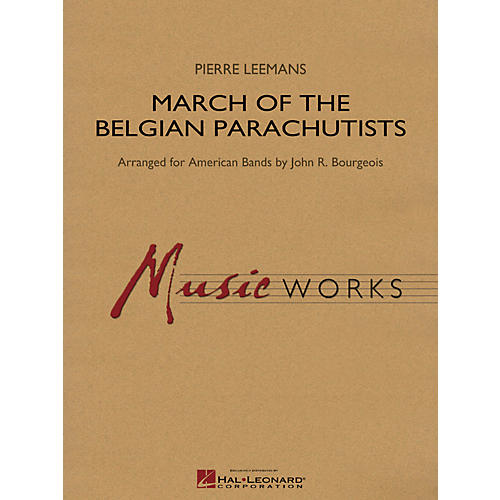 Hal Leonard March Of The Belgian Parachutists - Music Works Series Grade 4