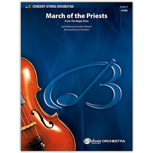 BELWIN March of the Priests Conductor Score 3