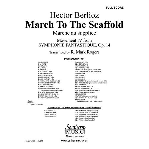 Southern March to the Scaffold (Band/Concert Band Music) Concert Band Level 4 Arranged by R. Mark Rogers