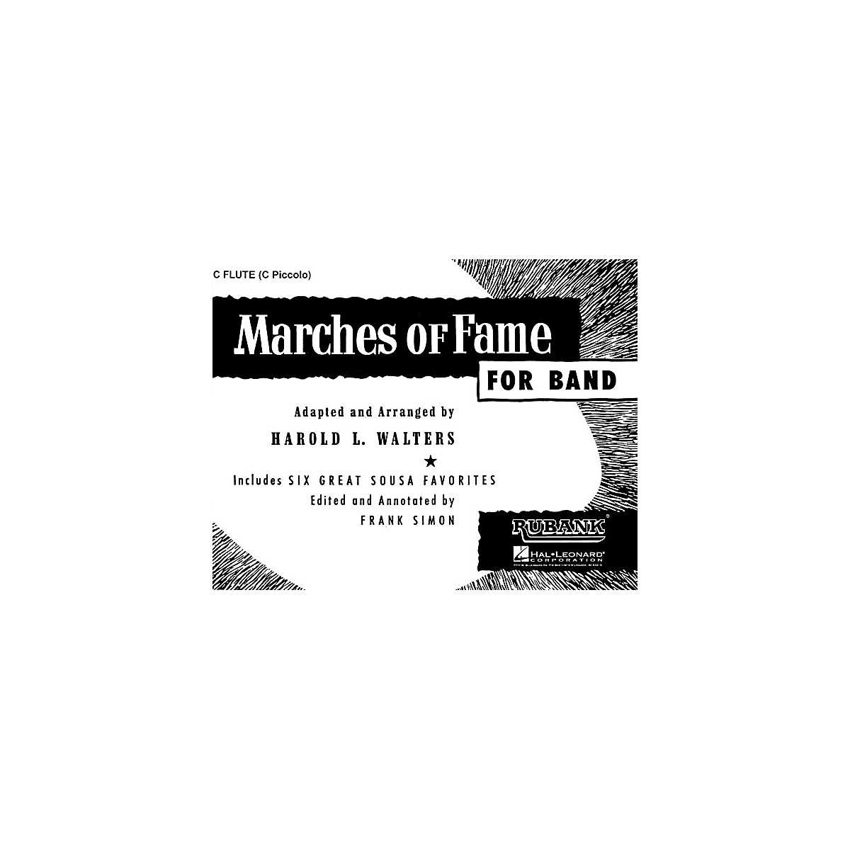 Rubank Publications Marches of Fame for Band (Bass Clarinet) Concert Band Composed by Various