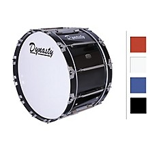 "Dynasty Marching Bass Drum 18"" Level 1 Black 18x14"""