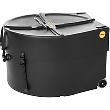 Marching Bass Drum Case with Wheels 24 in.