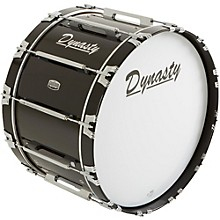 Dynasty Marching Bass Drum Level 1 Black 24 x 14 in.