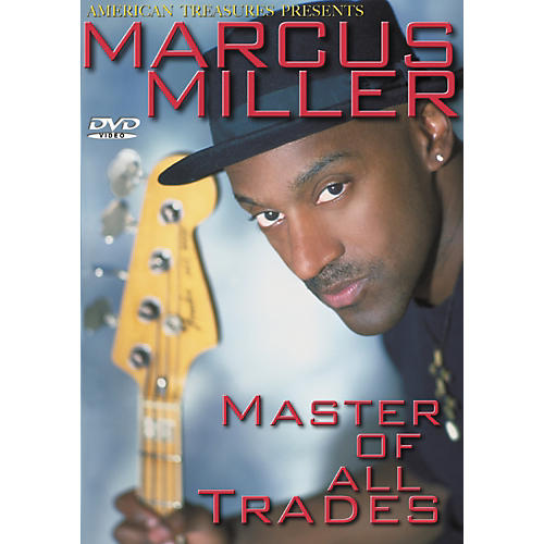 ZZZ Marcus Miller - Master of All Trades DVD Set