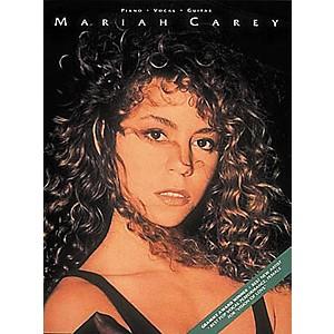 Hal Leonard Mariah Carey Piano, Vocal, Guitar Songbook by Hal Leonard