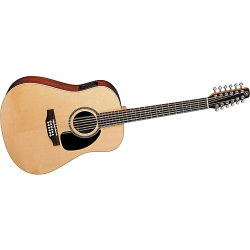 Seagull Maritime Spruce 12 Spruce Dreadnought Acoustic-Electric 12-String Guitar
