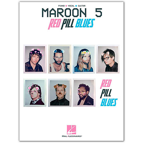 Hal Leonard Maroon 5 - Red Pill Blues Piano/Vocal/Guitar Songbook