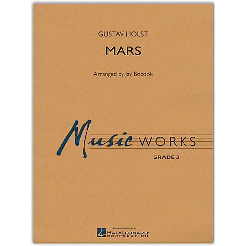 Hal Leonard Mars From The Planets MusicWorks Grade 3 Book/Online Audio