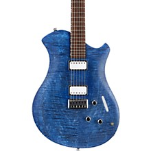 Mary Electric Guitar Flamed Marine