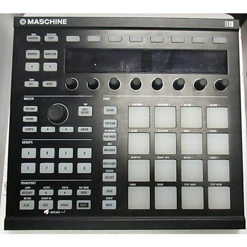 used native instruments maschine mkii midi controller guitar center. Black Bedroom Furniture Sets. Home Design Ideas