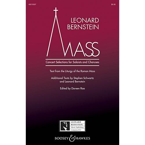 Leonard Bernstein Music Mass (Concert Selections for Soloists and Choruses) SATB Choir/Treble by Bernstein edited by Doreen Rao