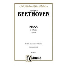 Alfred Mass in C Op. 86 SATB with SATB Soli Choir