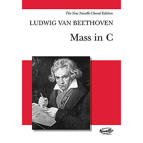 Novello Mass in C (Vocal Score) SATB Composed by Ludwig van Beethoven