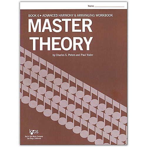 KJOS Master Theory Series Book 6 Advanced Harmony
