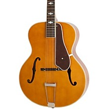 Masterbilt Century Collection De Luxe Classic F-Hole Archtop Acoustic-Electric Guitar Vintage Natural