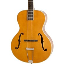 Masterbilt Century Collection Zenith Classic F-Hole Archtop Acoustic-Electric Guitar Vintage Natural