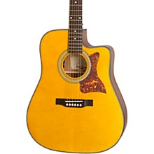 Masterbilt DR-400MCE Acoustic-Electric Guitar Satin Natural