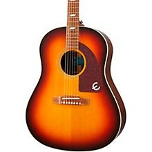 Masterbilt Texan Acoustic-Electric Guitar Faded Cherry Aged Gloss