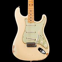 Masterbuilt Greg Fessler 1969 Stratocaster Relic Maple Fingerboard Electric Guitar Aged Vintage White