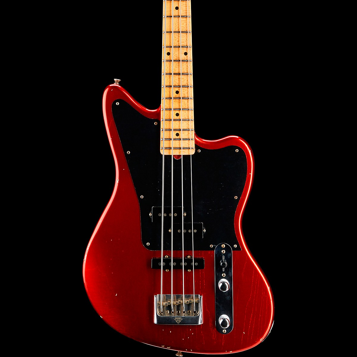 Fender Custom Shop Masterbuilt Jason Smith Offset Telecaster Bass Journeyman Relic