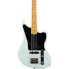 Masterbuilt Jason Smith Offset Telecaster Bass Journeyman Relic Faded Aged Sonic Blue