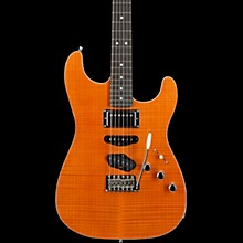 Masterbuilt Kyle McMillin HST Stratocaster NOS Ebony Fingerboard Electric Guitar Transparent Orange
