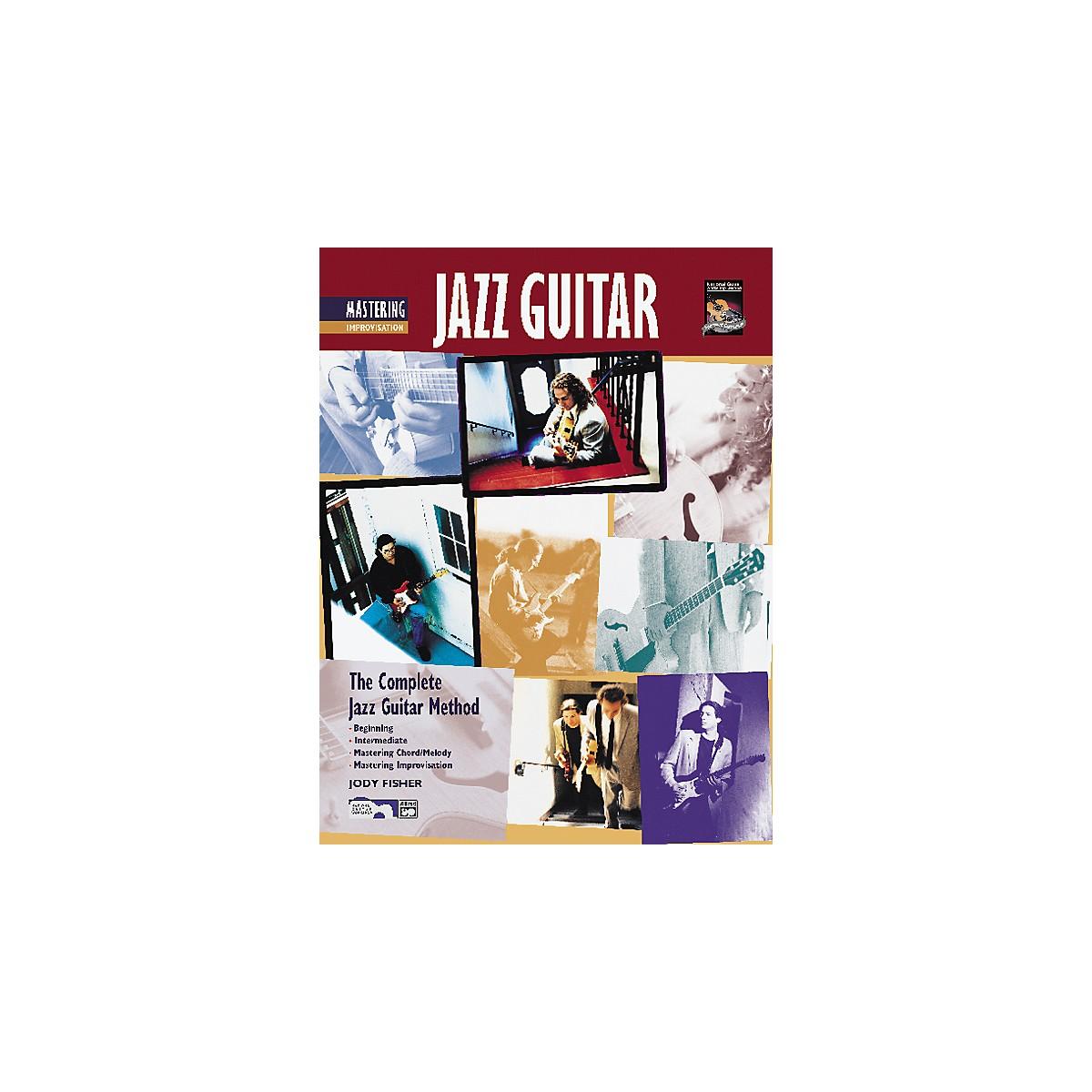 Alfred Mastering Jazz Guitar: Improvisation (Book/CD)