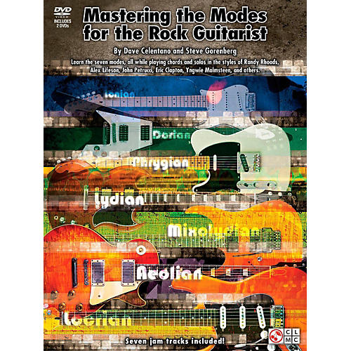 Cherry Lane Mastering The Modes For The Rock Guitarist - Book/2 DVD Pack