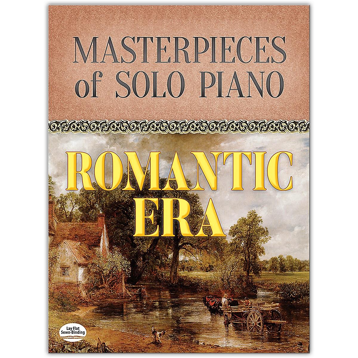 DOVER Masterpieces of Solo Piano: Romantic Era Book Intermediate