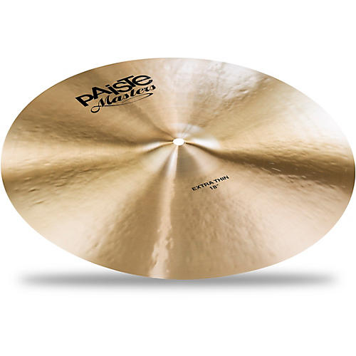 Paiste Masters Extra Thin Crash