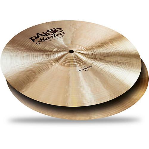 Paiste Masters Thin Hi-Hat Cymbals