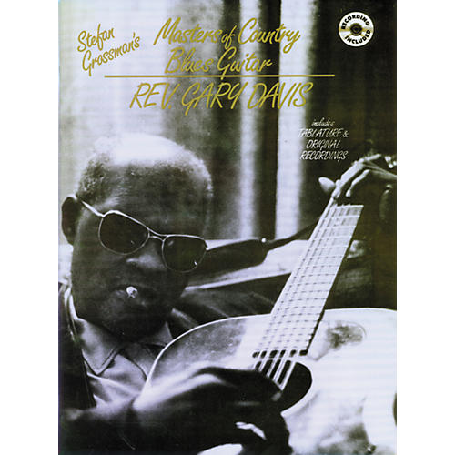 Alfred Masters of Country Blues Guitar - Rev. Gary Davis (Book/CD)