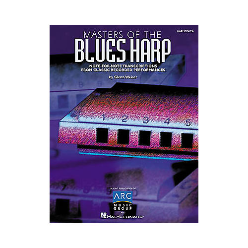 Hal Leonard Masters of the Blues Harp Book