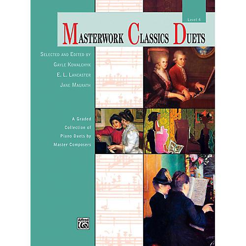 Alfred Masterwork Classics Duets Level 4 Early Intermediate / Intermediate