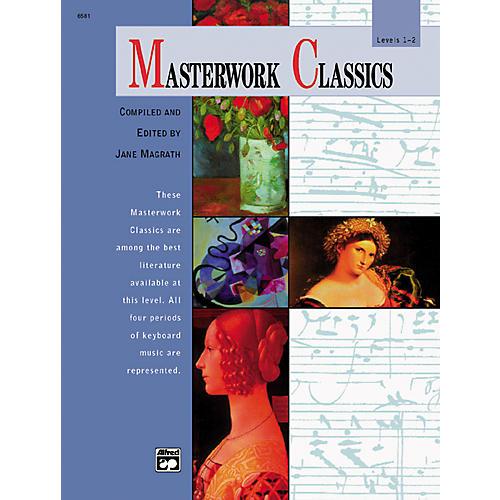 Alfred Masterwork Classics Level 1 & 2 Book & CD