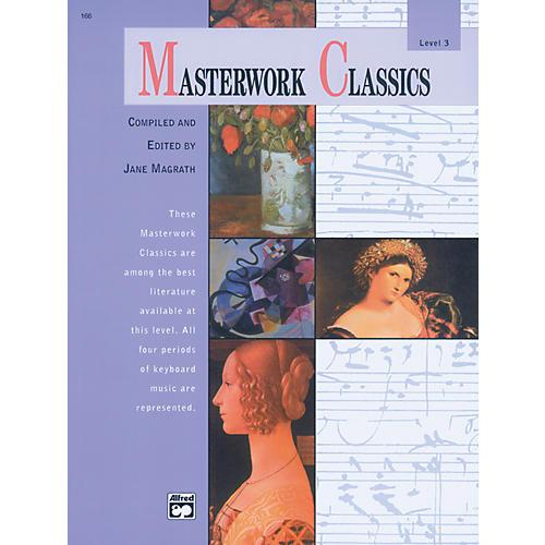 Alfred Masterwork Classics Level 3 Level 3 Book & CD