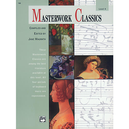 Alfred Masterwork Classics Level 4 Level 4 Book & CD