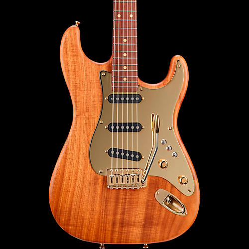 Schecter Guitar Research Masterworks Dream Machine with Solid Koa Body 6-String Electric Guitar