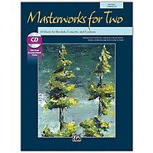 Alfred Masterworks for Two Book & Acc. CD Junior High, High School & Adult