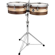 "LP Matador Sheila E Signature Series 13"" and 14"" Wood Timbale Set"