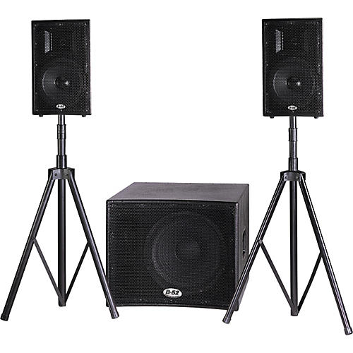 B-52 Matrix-1000V2 PA System with Stands