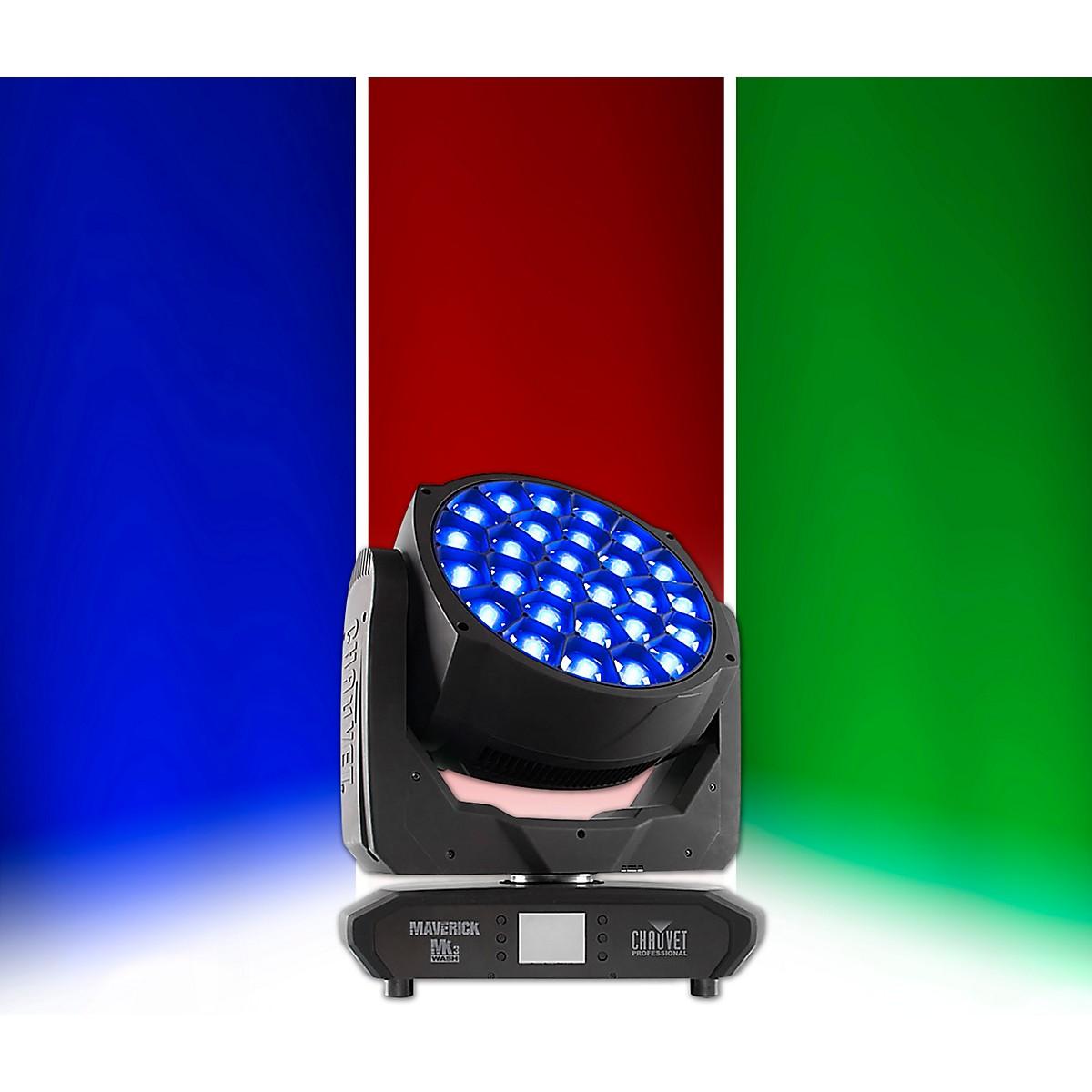 CHAUVET Professional Maverick MK3 Wash RGBW LED Moving-Head Fixture