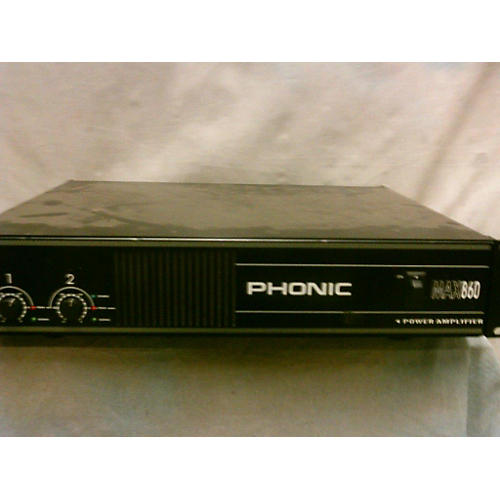 Phonic Max 860 Power Amp