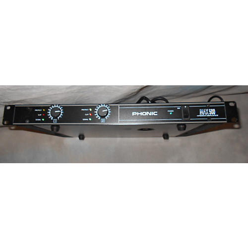 Phonic Max500 Power Amp